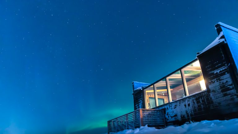 SAAGA-elämysmökistä avautuu uskomaton näkymä taivaalle
